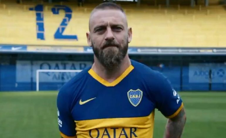 Daniele De Rossi, el nuevo trofeo del Boca Juniors