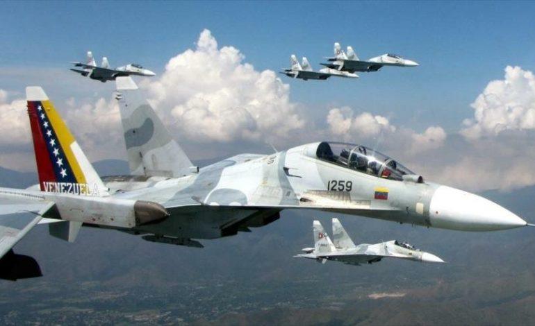 Dos militares fallecieron tras  estrellarse en un Sukhoi en el estado Guárico