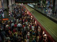 Por falla eléctrica 10 estaciones del metro de Caracas no están operativas