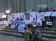 Protestaron frente a la sede del PNUD en rechazo a las torturas del régimen de Maduro