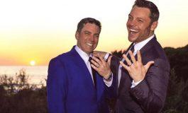 Tiziano Ferro se casó con su novio el empresario Víctor Allen en Italia