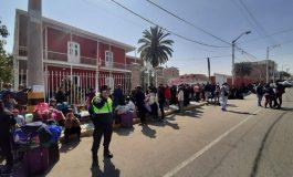 Enrejan consulado de Chile en Tacna por seguridad