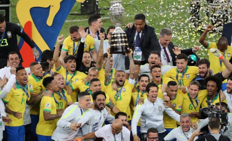 Brasil campeón de la Copa América 2019, tras ganar 3-1 a la selección de Perú