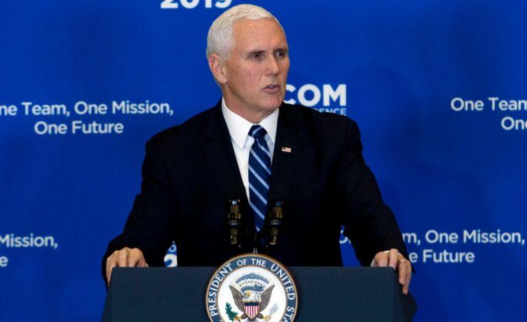 Mike Pence instó a los militares venezolanos a unirse a la sociedad civil