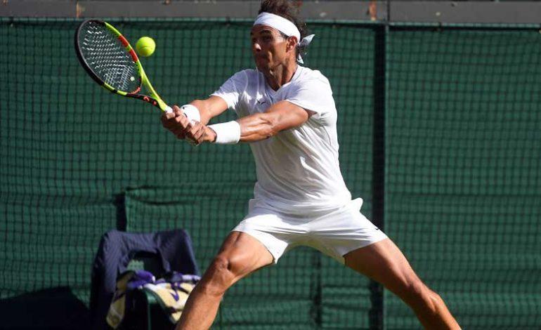 Nadal avanzó a los Cuartos de Final de Wimbledon, tras vencer a Sousa