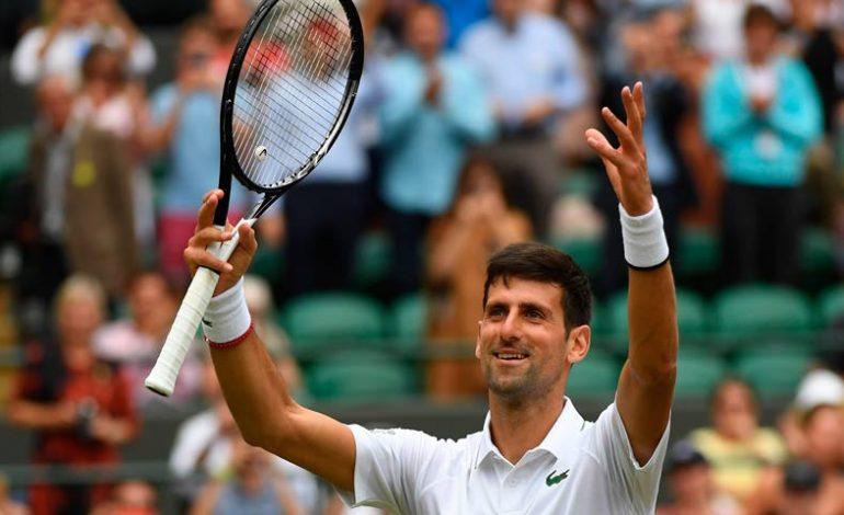 El serbio Djokovic venció a Bautista y disputará su sexta final en Wimbledon