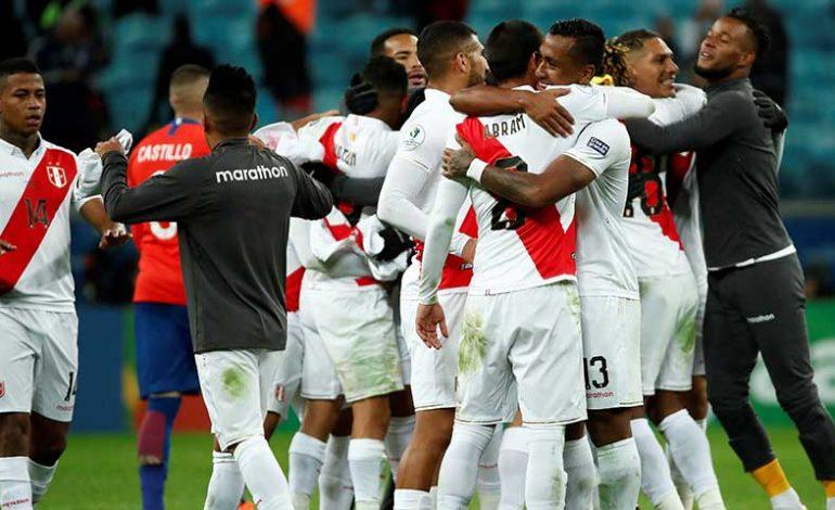 Perú clasificó a la final de la Copa América y jugará contra Brasil