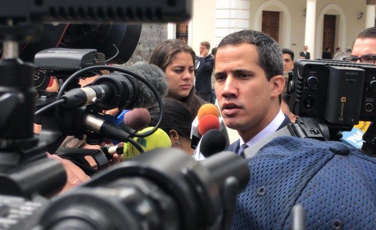 Guaidó anunció que CAF propone préstamo para Venezuela por 400 millones de dólares