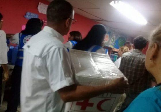Régimen de Maduro impide a la Cruz Roja entregar ayuda humanitaria en Aragua