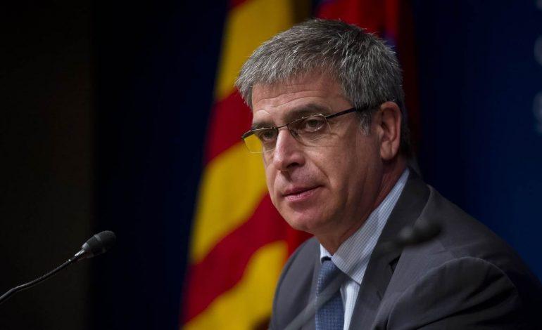 Vicepresidente del Barcelona abandonó su cargo