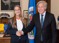 Tintori negó en Washington que crisis humanitaria de Venezuela se deba a sanciones
