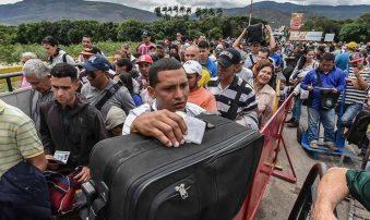 Éxodo masivo de venezolanos podría alcanzar los 10 millones para 2023