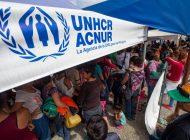 Acnur pidió más ayuda para lidiar con la crisis de los refugiados venezolanos
