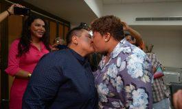 Por primera vez dos mujeres pudieron casarse en Ecuador