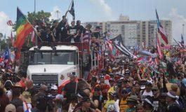 Artistas celebran renuncia del gobernador de Puerto Rico, Ricardo Rosselló