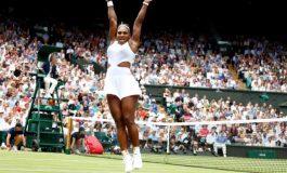 Serena Williams clasificó a las semifinales de Wimbledon