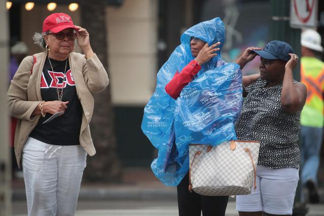 Luisiana enfrenta vientos de Barry a punto de ser huracán