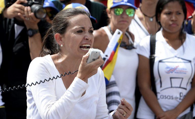 María Corina Machado no encuentra justificaciones para mantener el diálogo