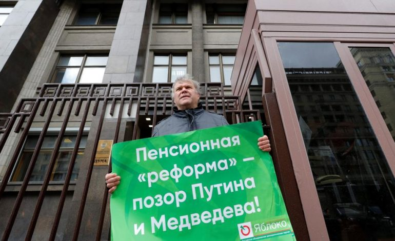 Rusia registró al primer candidato opositor para las elecciones