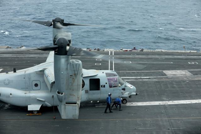 EEUU pide a buques comerciales que envíen por adelantado planes de tránsito por Golfo Pérsico