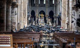 Reactivan trabajos en Notre Dame