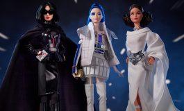 Barbie se viste de sith y de princesa con la colección Star Wars