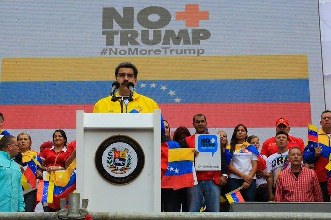 """Maduro calificó de """"persecución tipo mafia"""" acciones de EEUU contra Motta Domínguez y Eustoquio Lugo"""
