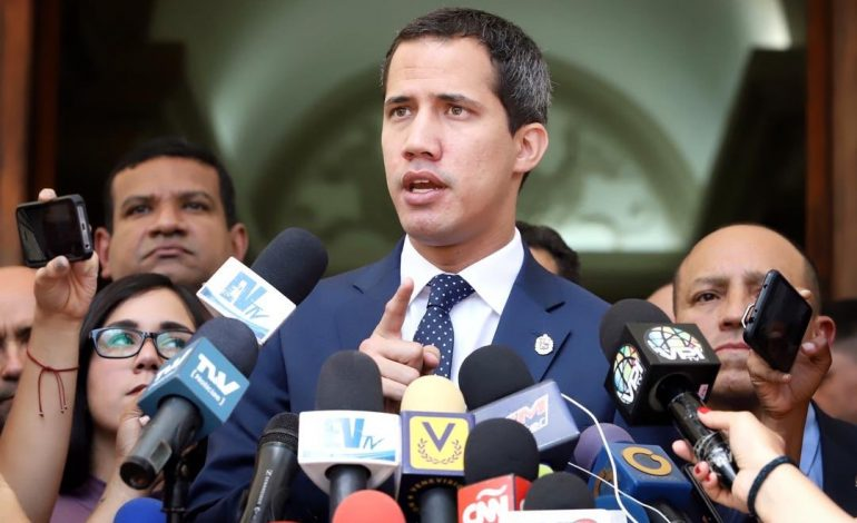 Guaidó: nadie está pensando en un cargo, sino en el cese de la usurpación