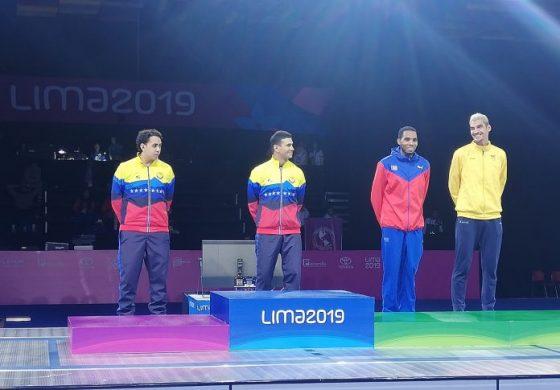 Venezuela alcanza el puesto 12 en el medallero Panamericano Lima 2019
