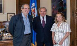 Almagro se reunió con Miguel Henrique Otero y hablaron sobre Venezuela