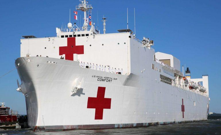 USNS Comfort atendió a más de 30 mil venezolanos en cuatro países