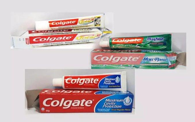Colgate advierte a venezolanos sobre versiones falsas de su marca de pasta dental