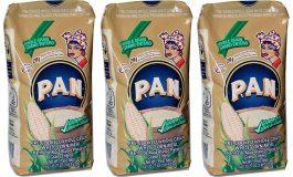 Polar sacó en EEUU y Colombia harina P.A.N 100% libre de gluten