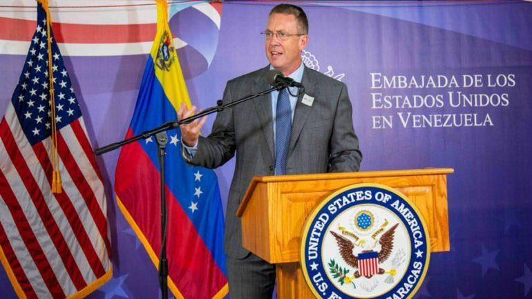 James Story: Mostramos una salida para que los venezolanos decidan sobre la transición