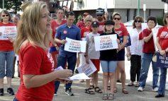 Manifestantes piden mayor control de armas en EEUU