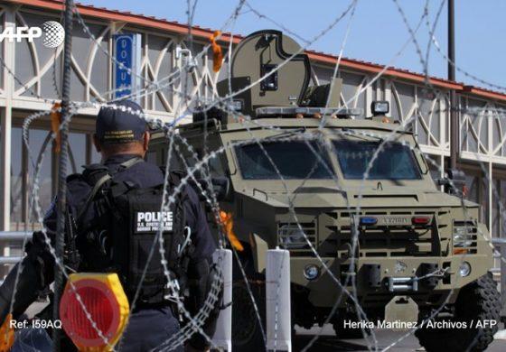 EEUU cierra puente fronterizo del norte de México por llegada de indocumentados