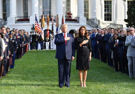 EEUU conmemora a las víctimas de los ataques terroristas del 11 de septiembre (Fotos)