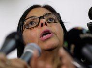 """Delcy Rodríguez opina que el capitalismo """"es un modelo incapaz de generar felicidad"""""""