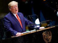 Trump en la ONU: Estamos defendiendo al pueblo de Cuba y Venezuela por la libertad