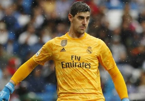 Courtois salvó al Real Madrid del empate ante Levante
