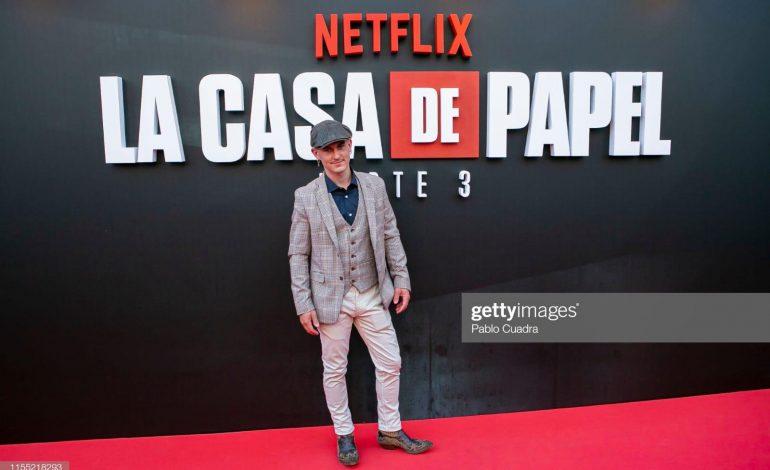 Ahikar Azcona da un giro a su vida al convertirse en actor de La Casa de Papel