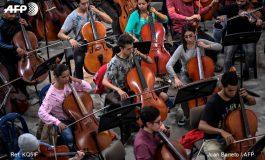 """Venezolanos y colombianos unen fuerzas en la """"orquesta de la integración"""""""