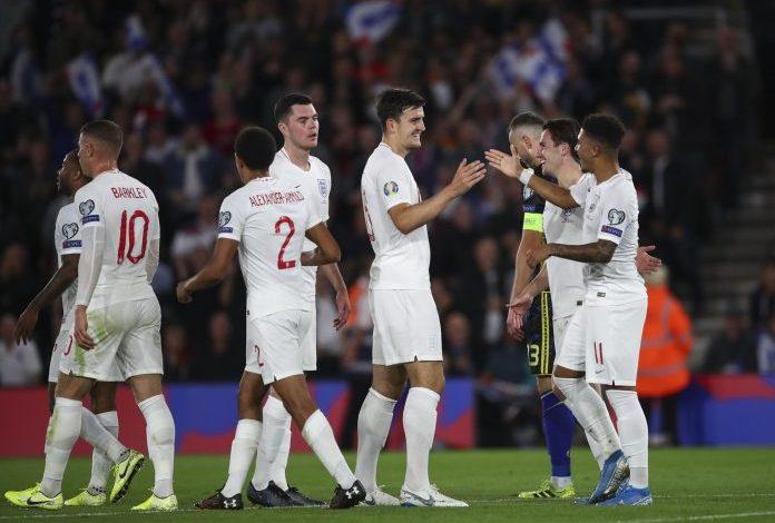 Inglaterra continúa invicta en el camino a la Eurocopa 2020