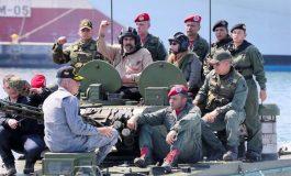 ¿Miedo? Maduro anunció ejercicios militares para los días 15 y 16 de febrero
