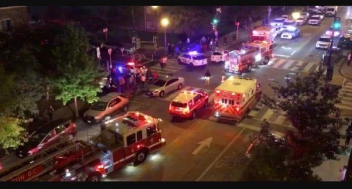 Un muerto y cinco heridos en un tiroteo en Washington