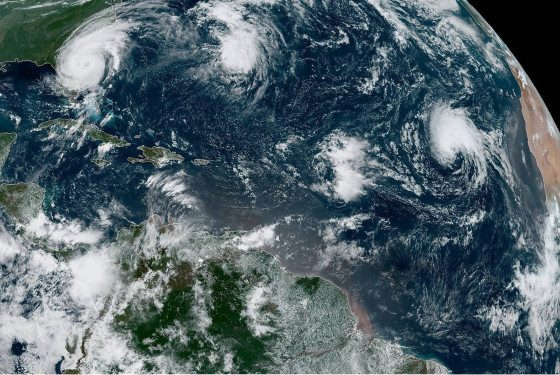 Dorian recupera la categoría 3 colocando en riesgo la costa de Estados Unidos