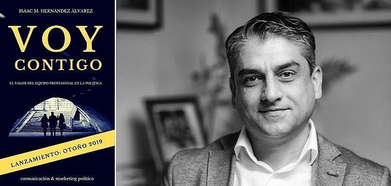 """Isaac Hernández presenta su segundo libro """"Voy Contigo"""""""