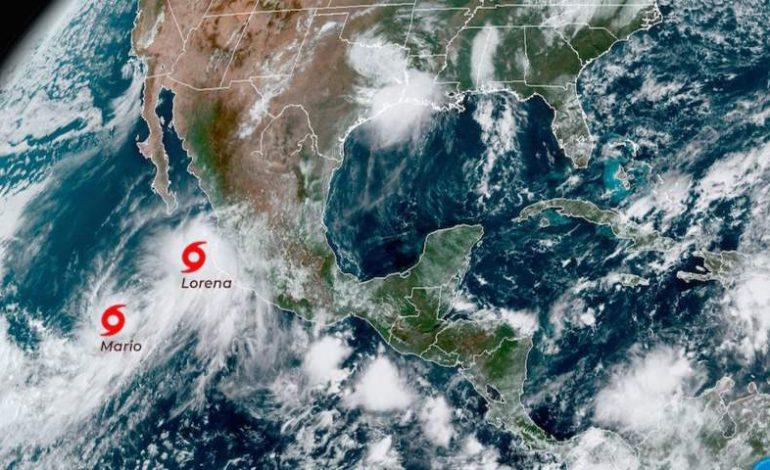 Tormenta Lorena pasará como huracán por Baja California Sur