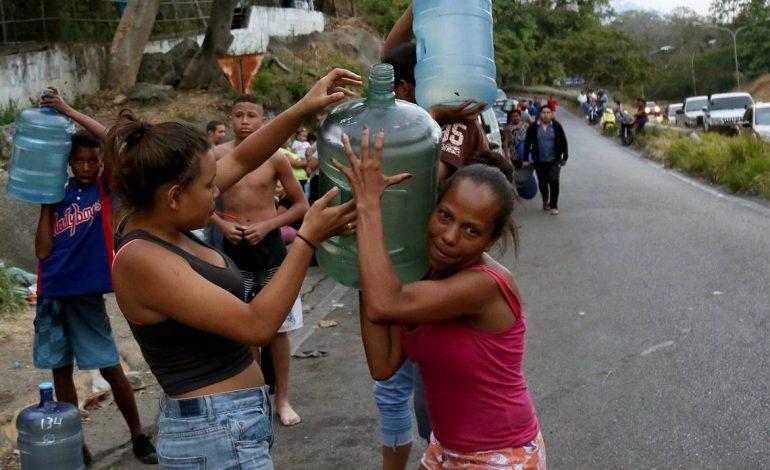 Solo 4% de los venezolano tienen servicio de agua constante