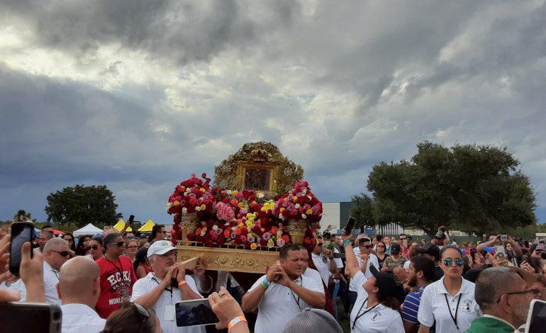 Virgen de la Chinita unió a los migrantes venezolanos en Orlando